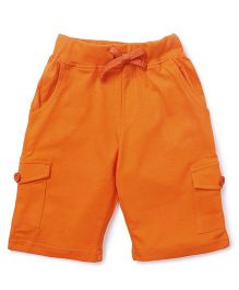 KiddoPanti Cargo Shorts - Orange