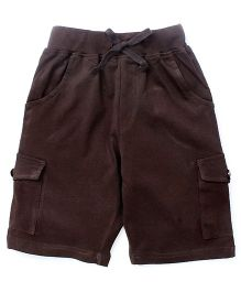 KiddoPanti Cargo Shorts - Brown