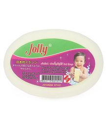 Baby Bath Sponge - Lemon Green