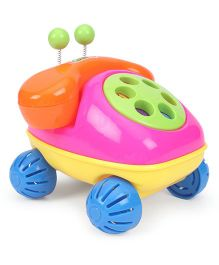 Baby Telephone Toy - Pink Green