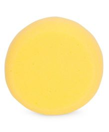 Round Shape Baby Bath Sponge - Yellow
