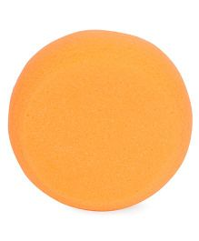 Round Shape Baby Bath Sponge - Orange