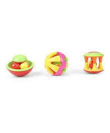 Baby Rattles Pack of 3 (Color May Vary)