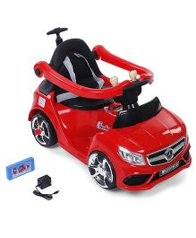 Battery Operated Musical Rode On Car - Red
