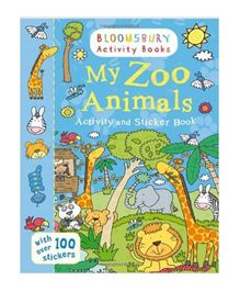 My Zoo Animals Activity And Sticker Book - English