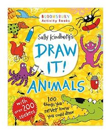 Draw It Animals Book - English