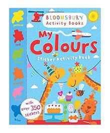 My Colours Sticker Activity Book - English
