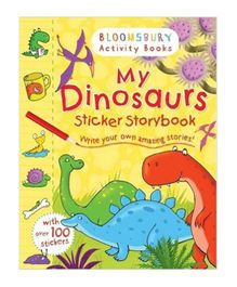 My Dinosaurs Sticker Storybook - English
