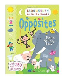 My Opposites Sticker Activity Book - English