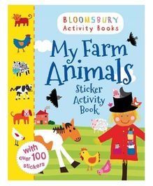My Farm Animals Sticker Activity Book - English