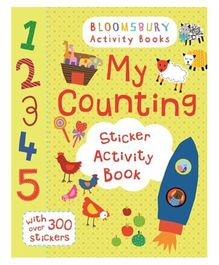 My Counting Sticker Activity Book - English