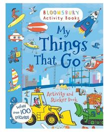 My Things That Go Activity And Sticker Book - English