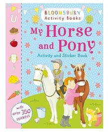 My Horse and Pony Activity and Sticker Book - English