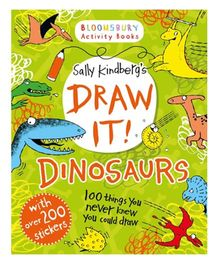 Draw It Dinosaurs 100 Prehistoric Things To Doodle And Draw! - English
