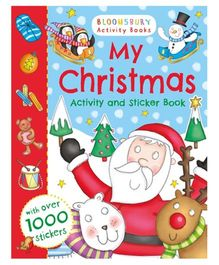 My Christmas Activity and Sticker Book - English