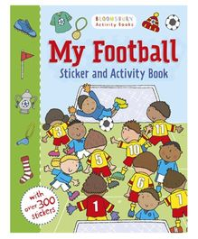 My Football Activity And Sticker Book - English