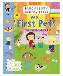 My First Pets Sticker Activity Book - English