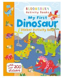 My First Dinosaur Sticker Activity Book - English