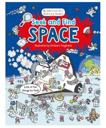 Seek And Find Space Activity Book - English