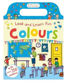 Look And Learn Fun Colours Book - English