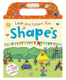 Look And Learn Fun Shapes Activity Book With Stickers - English