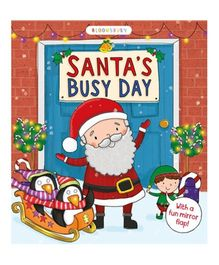 Santa's Busy Day Story Book - English