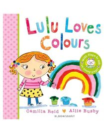 Lulu Loves Colours Story Book - English