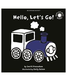 Hello Let's Go Book - English