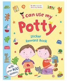 I Can Use My Potty Sticker Reward Book - English
