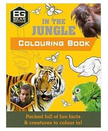 Bear Grylls Coloring Books In The Jungle - English