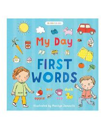My Day First Words Book - English
