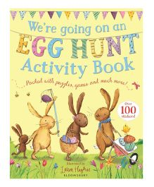 We're Going On An Egg Hunt Activity Book - English