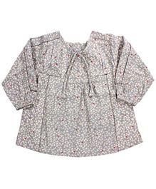 Baby Baya - Printed Full Sleeves Frock
