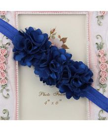 Pikaboo Blossom Sequence Baby Headband - Royal Blue