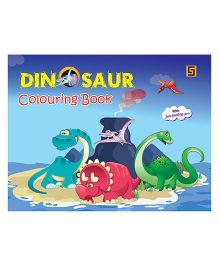 Dinosaur Colouring Book - English