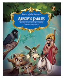 Aesop Fables Story Book - English