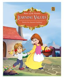 Learning Values Story Book - English