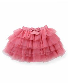 Party Princess Layered Tutu Skirt - Pink