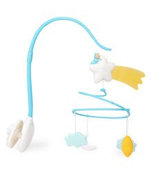 Smoby Cotoons Musical Cot Mobile - Blue White Yellow