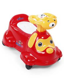 Musical Baby Potty Seat Puppy Design - Red & Yellow