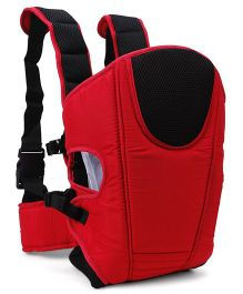 Three Way Baby Carrier - Red & Black