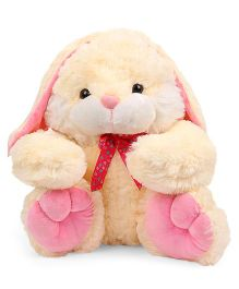 Dimpy Stuff Bunny Soft Toy Cream Pink - 39 cm