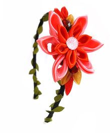 Reyas Accessories Kanzashi Hairband - Red