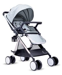 R for Rabbit Giggle Wiggle The Feather Light Stroller - Grey