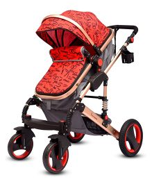 R for Rabbit Hokey Pokey The Ultimate Stroller - Red