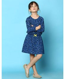 Tiddlywings Stand Out Bow Dress - Blue