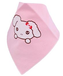 Little Palz Puppy Printed Bib - Pink
