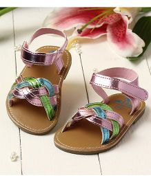 LCL By Walkinlifestyle Sandal Strap Design - Light Pink