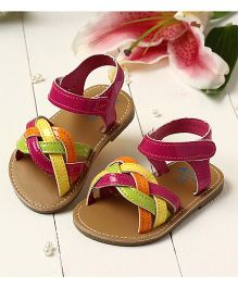 LCL By Walkinlifestyle Sandal Strap Design - Pink