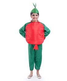 Fancydresswale Pomegranate Fancy Dress - Red Green